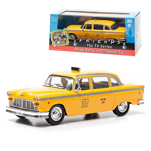 Friends Phoebe's Taxi Cab 1:43 Scale Die-Cast Metal Vehicle
