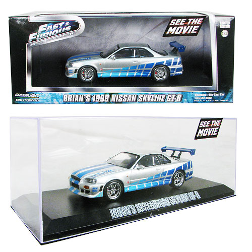 2 Fast 2 Furious Nissan Skyline GT-R 1:43 Die-Cast Vehicle