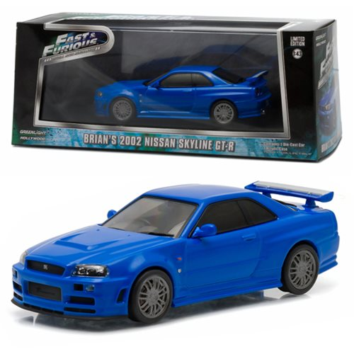 Fast And Furious Nissan Skyline 1 43 Die Cast Vehicle
