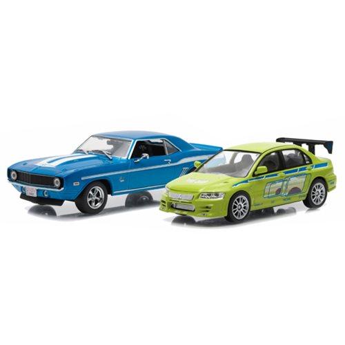 2 Fast 2 Furious Drag Race Die-Cast Metal Vehicle 2-Pack