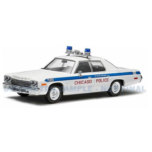 Blues brothers chicago police dodge monaco 1 43 die cast for Chicago motors used police cars