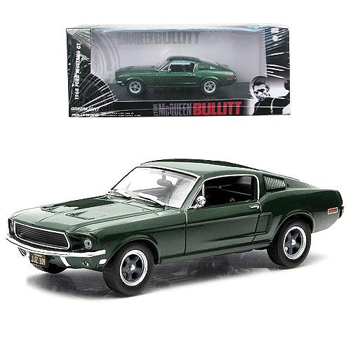 Bullitt 1968 Ford Mustang Fastback 1:43 Scale Die-Cast Metal Vehicle