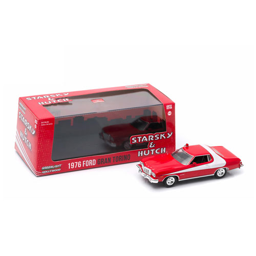 Starsky and Hutch 1976 Ford Gran Torino 1:43 Scale Die-Cast Metal Vehicle
