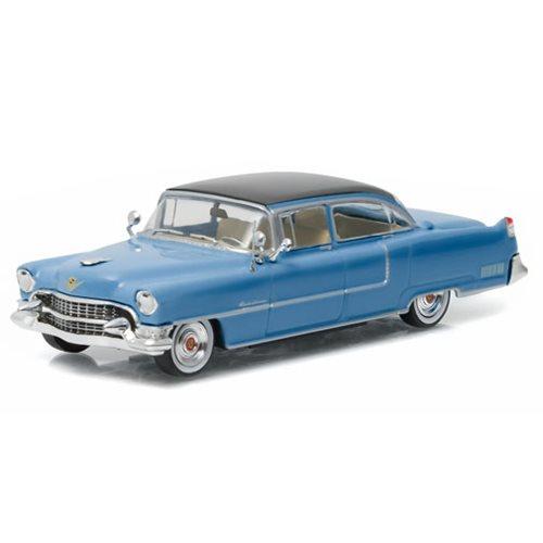 Elvis Presley 1955 Blue Cadillac 1:43 Die-Cast Metal