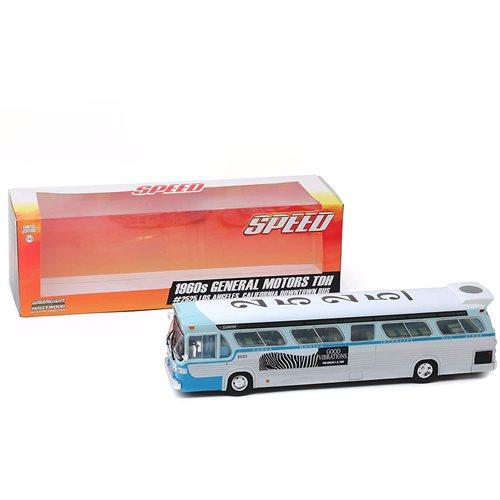Speed (1994) 1960s General Motors Los Angeles California Bus 1:43 Scale Die-Cast Metal Vehicle