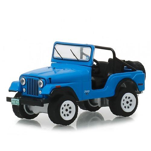 Mork & Mindy (TV Series) - 1972 Jeep CJ-5ÿ1:43 Scale Die-Cast Metal Vehicle