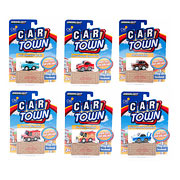 Car Town Series 2 Die-Cast Pull-Back Vehicle Display Box