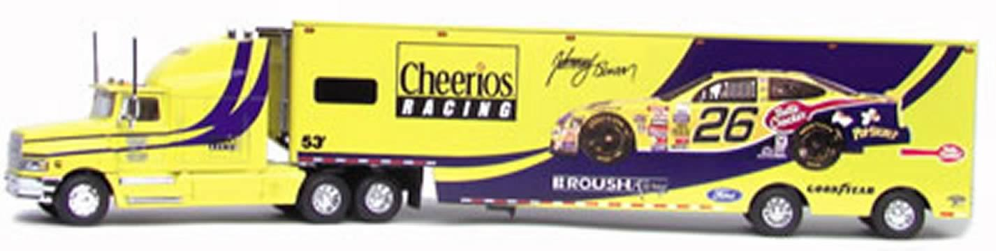 Johnny Benson 1:64 Transporter