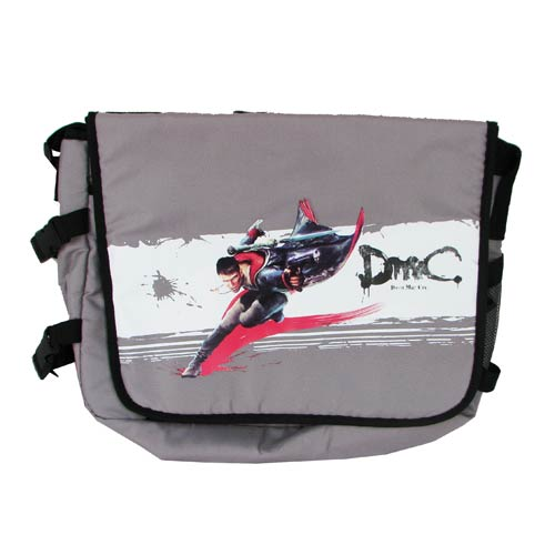 Devil May Cry Dante Gray Messenger Bag