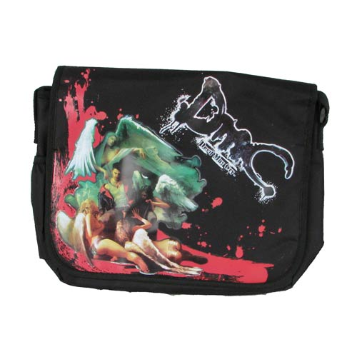 Devil May Cry Dante and Angels Black Messenger Bag