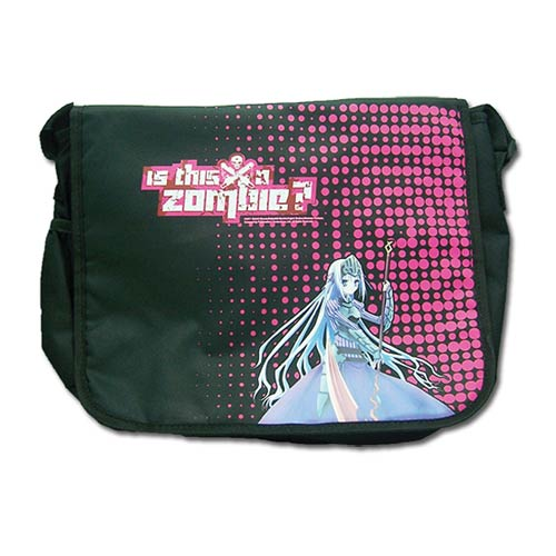 Is This A Zombie? Eucliwood Black Messenger Bag