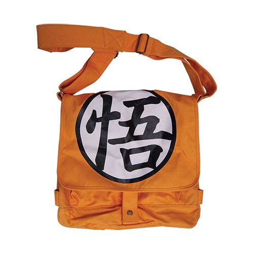 Dragon Ball Z Goku Symbol Messenger Bag