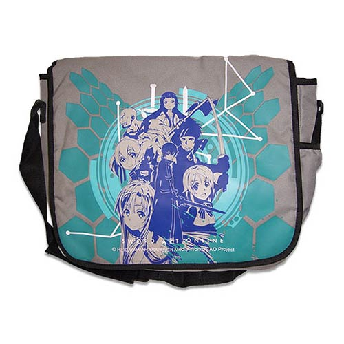 Sword Art Online Asuna SAO Gray Messenger Bag