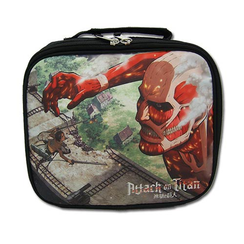 Attack on Titan Attacking Titan Tote Bag Lunch Box