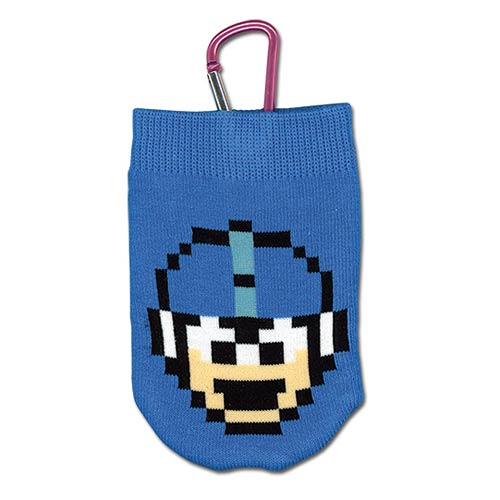 Mega Man X 1UP Knitted Cell Phone Bag