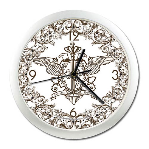 Black Butler Phantomhive Emblem Wall Clock