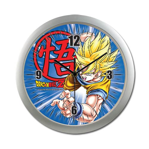 Dragon Ball Z Goku Wall Clock