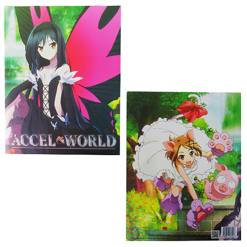 Accel World Pocket File Folder