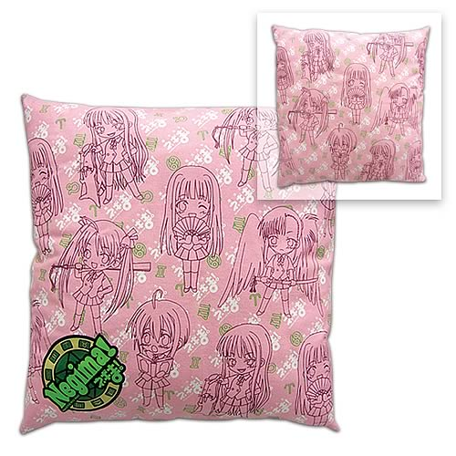 Negima Girl Pattern Pillow