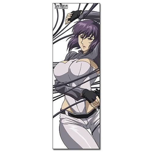 Ghost in the Shell Wired Motoko Kusanagi Body Pillow