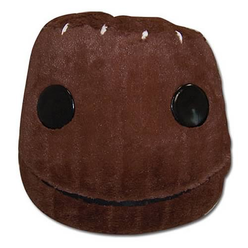 LittleBigPlanet Sackboy Head Pillow
