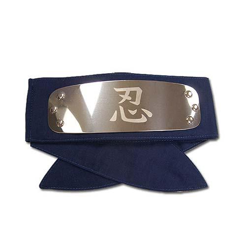 Naruto Shippuden Shinobi Blue Headband