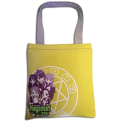 Negima Asuna and Friends Hand Tote Bag