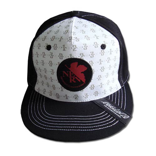 Neon Genesis Evangelion Final Mech Pattern Fitted Hat