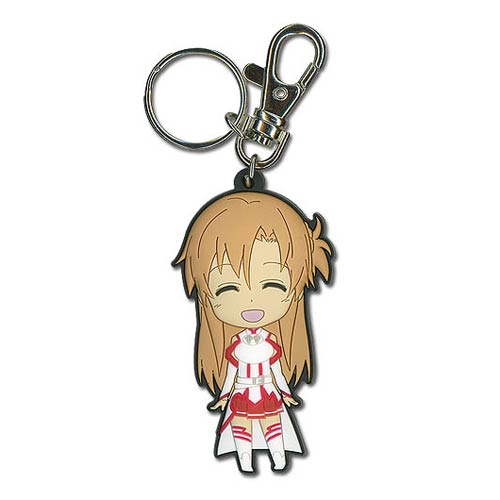 Sword Art Online Asuna Yuuki Super Deformed Key Chain