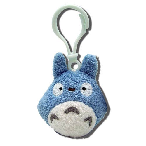 My Neighbor Totoro Blue Clip-On Plush Key Chain