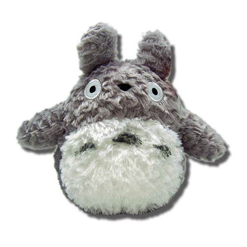 My Neighbor Totoro Gray 6-Inch Fluffy Plush