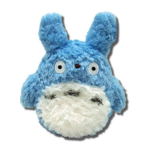 My Neighbor Totoro Blue 5 1/2-Inch Fluffy Plush
