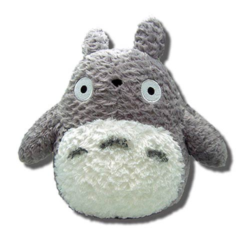 My Neighbor Totoro Gray 9-Inch Fluffy Plush