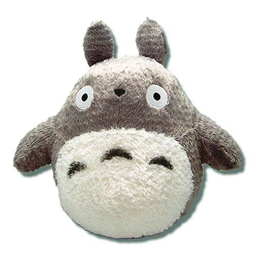 My Neighbor Totoro Gray 13-Inch Fluffy Plush