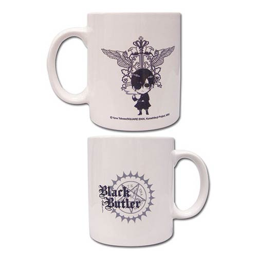 Black Butler Icon White Mug