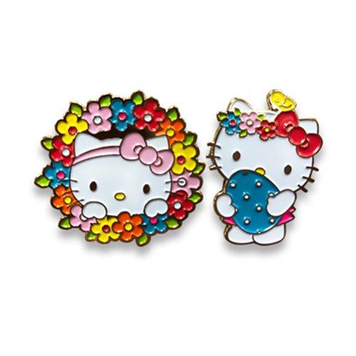 Hello Kitty 2017 Easter Set A Enamel Pin Set