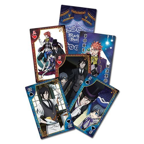 Black Butler B.O.C. Circus Playing Cards