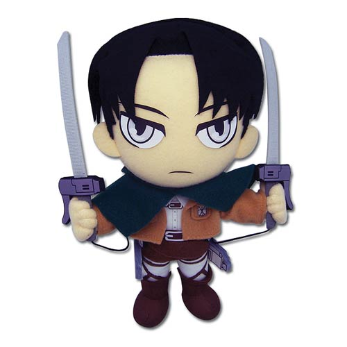 Attack on Titan Levi 8-Inch Plush