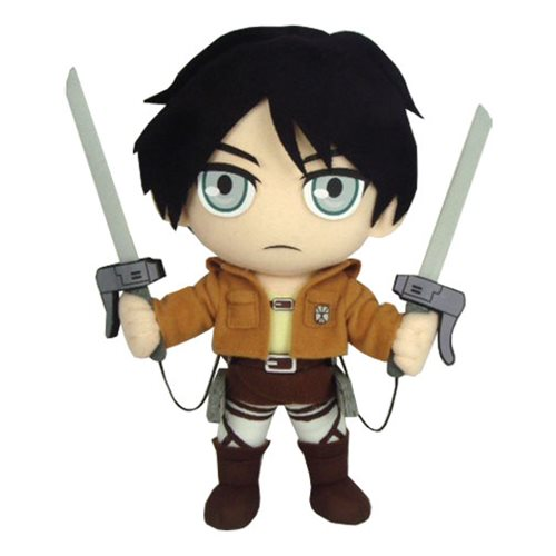 Attack on Titan Eren Yeager 9-Inch Plush