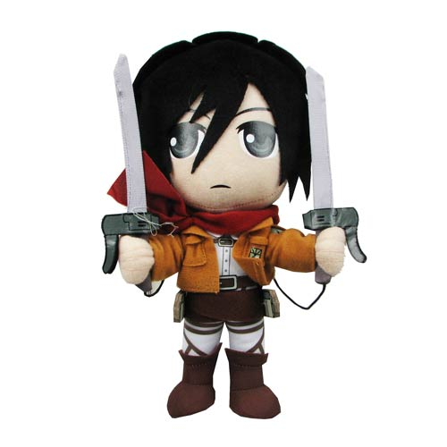 Attack on Titan Mikasa Ackerman 8-Inch Plush