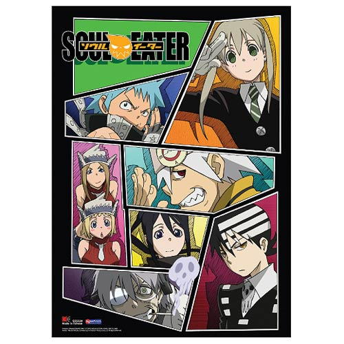 Soul Eater Group Photo Wall Scroll