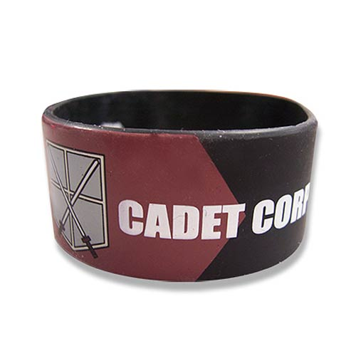 Attack on Titan Cadet Corps Rubber Wristband