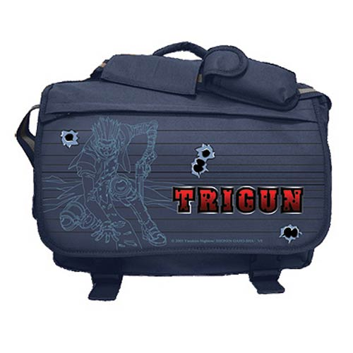 Trigun Gray Messenger Bag