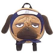 Naruto Pakkun Plush Backpack