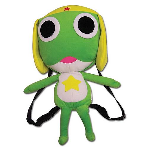 Sergeant Frog Keroro Plush Backpack