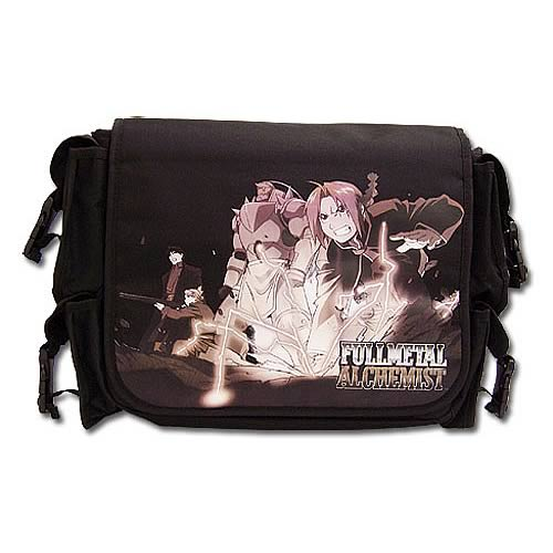 Fullmetal Alchemist Fighting Messenger Bag