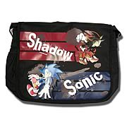 Sonic The Hedgehog Sonic And Shadow Messenger Bag