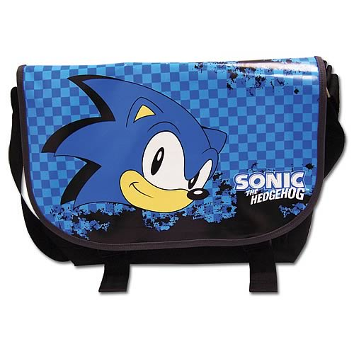 Sonic The Hedgehog Classic Sonic Messenger Bag