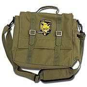 Metal Gear Solid 3 Snake Eater Solid Snake Messenger Bag