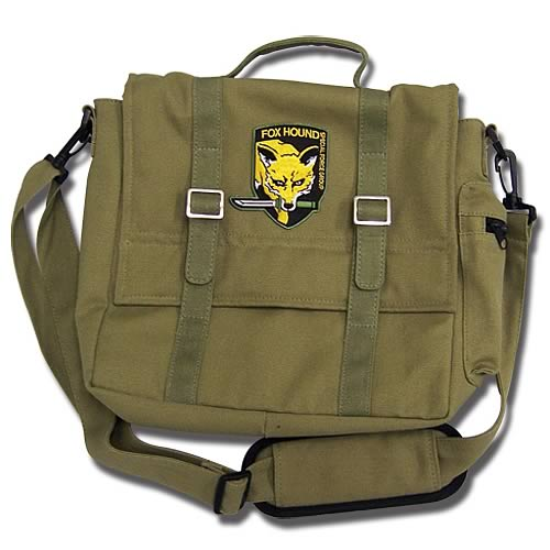 Metal Gear Solid 3 Snake Eater Solid Snake Messenger Bag